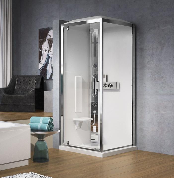 cabine de douche multi fonctions glax gf acc s de face. Black Bedroom Furniture Sets. Home Design Ideas