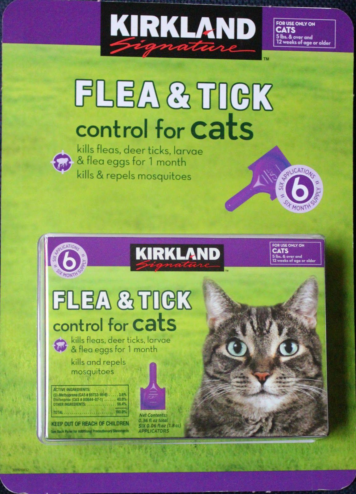 Kirkland Signature Flea Tick Control Review Cat Fleas Tick