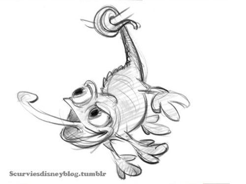 Pascal Concept Sketch | Desenho de personagens, Desenhando ...
