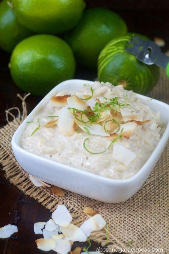 Coconut Basmati Rice Pudding with Lime | Coconut basmati ...