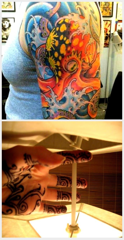 , Classic tattoo design elements add to the decorative nature of this octopus tatt…,  #add #C…, My Tattoo Blog 2020, My Tattoo Blog 2020