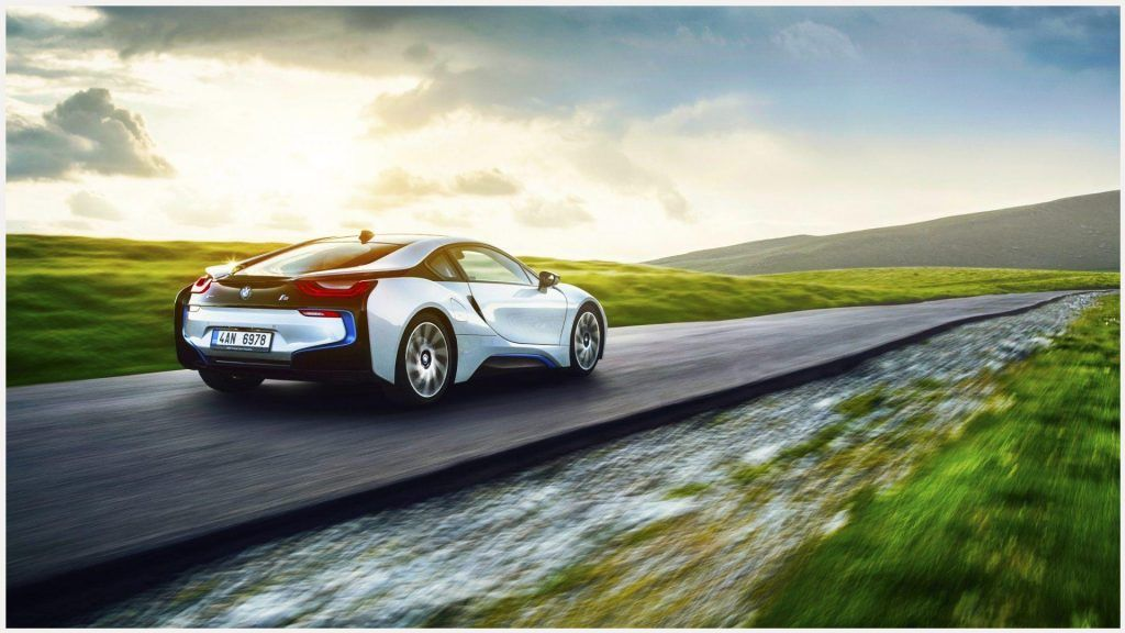 I 8 BMW Electric Car Wallpaper