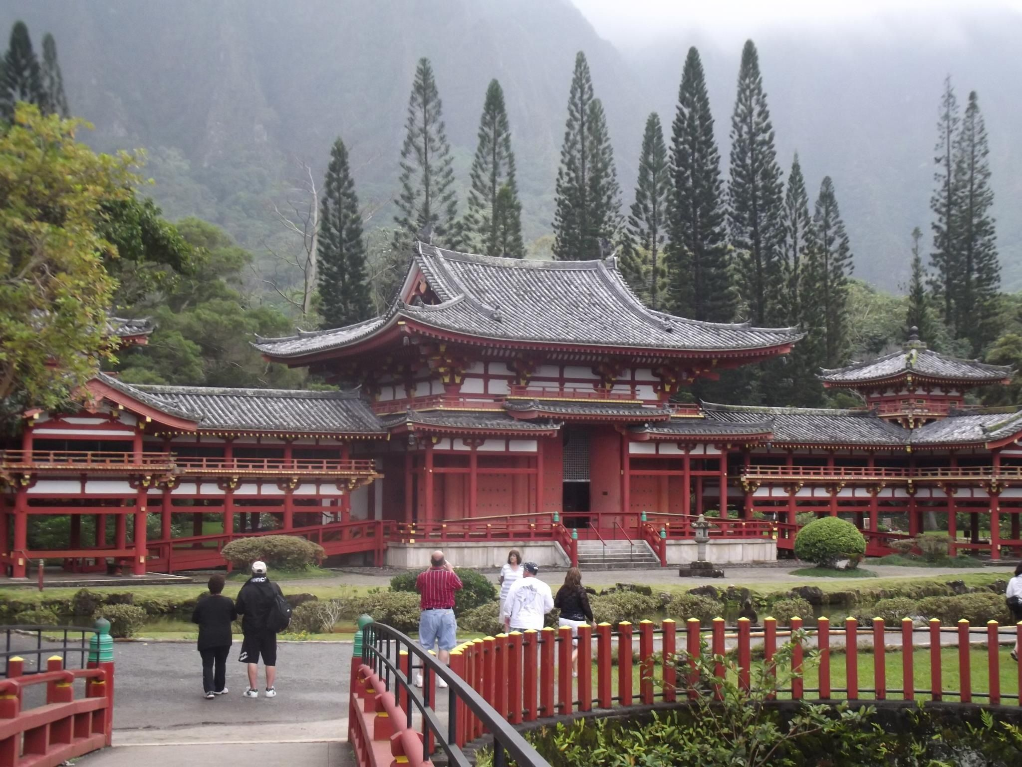 Byodo Temple, on Oahu, Hawaii  Very Beautiful, calm Energy