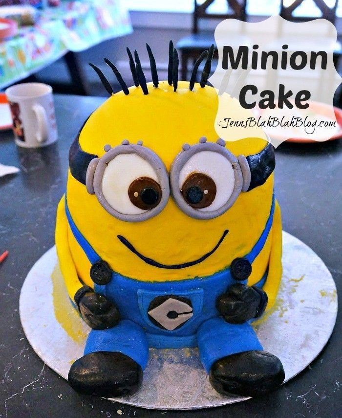 Magnificent Ever Wondered How To Make A Minions Cake Be Sure To Check The Personalised Birthday Cards Paralily Jamesorg