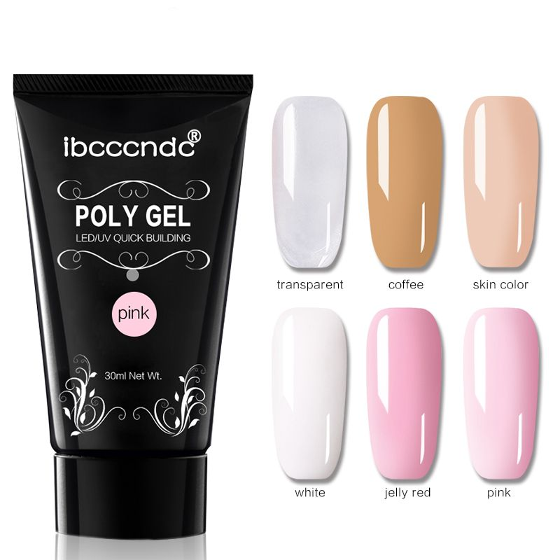 US$9.99] DANCINGNAIL Poly Gel Nail Extension Builder 30ml ...