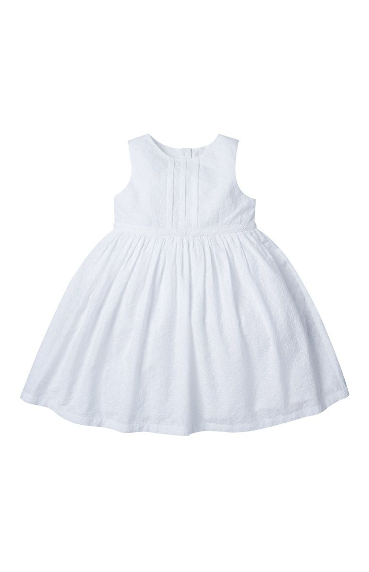 Primark - White Broderie Dress | Christening | Pinterest | Primark ...