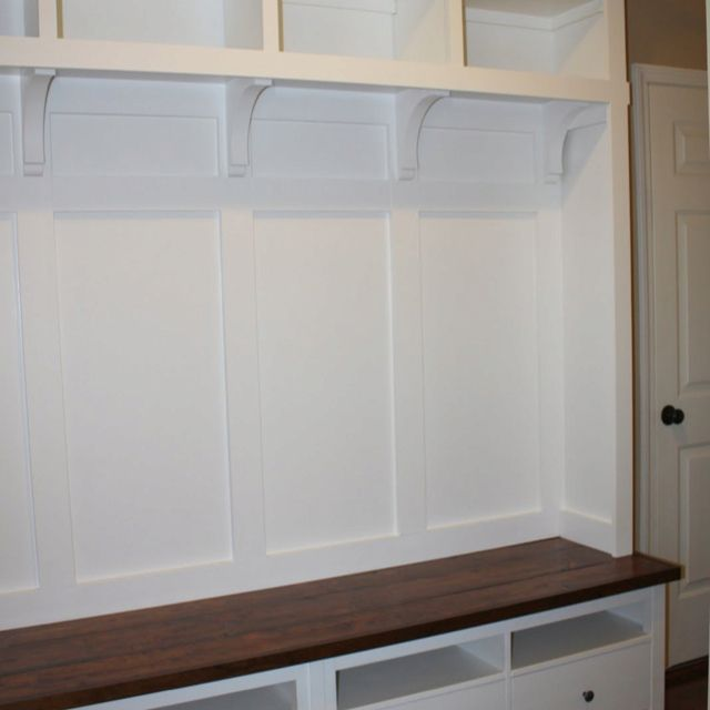 Superb Making Mudroom Storage From An IKEA Hack