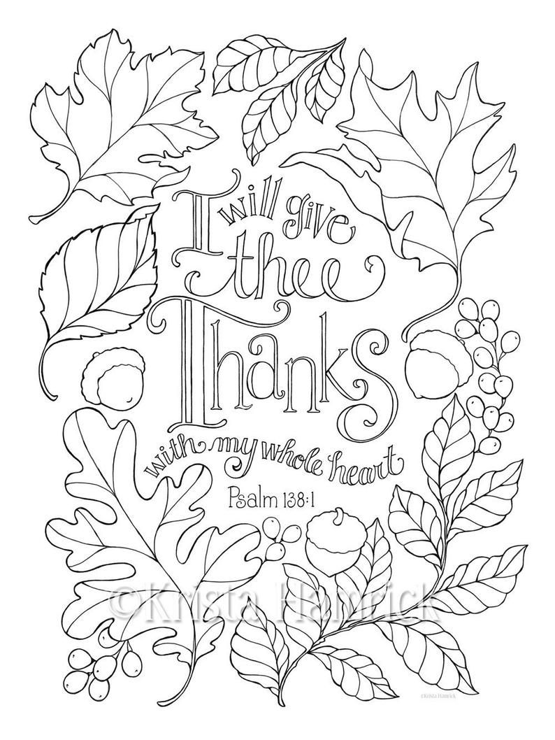 Grateful Heart Series Of Four Coloring Pages In Two Sizes Etsy In 2021 Heart Coloring Pages Fall Coloring Pages Bible Coloring Pages
