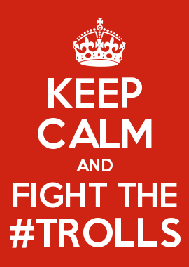 KEEP CALM AND FIGHT THE