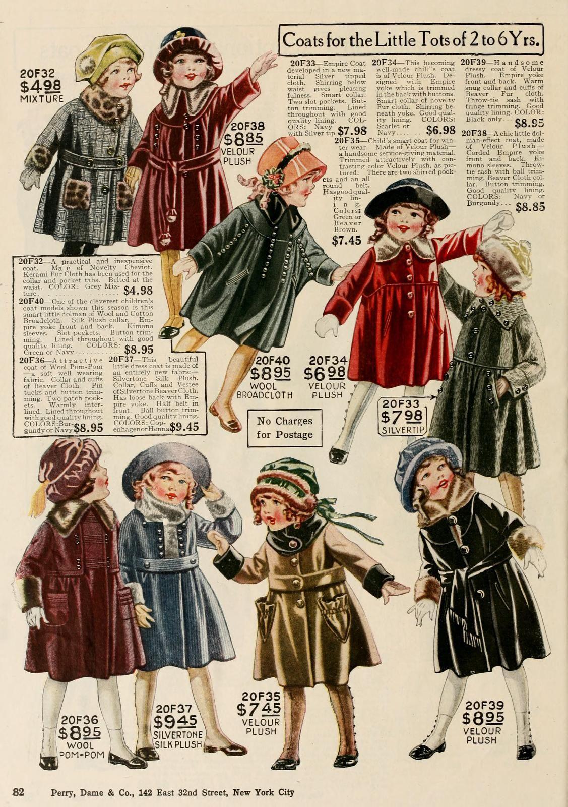 1920s Children's Fashion