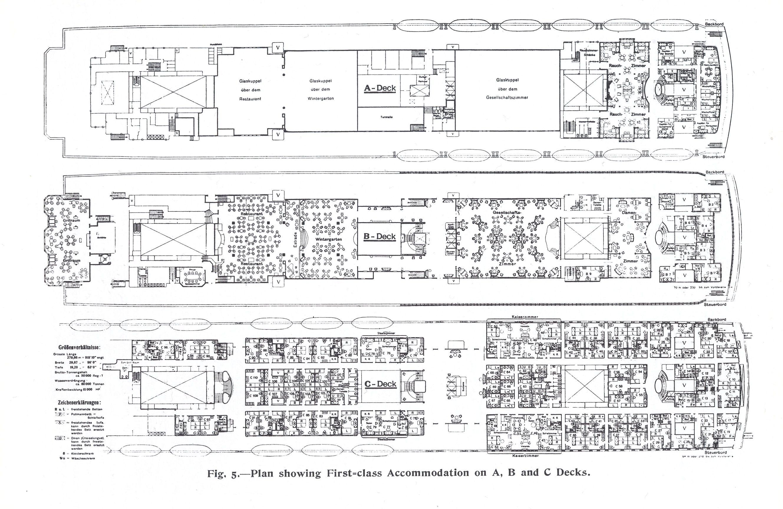 SS IMPERATOR Deck Plans Pinterest More Ss Ideas