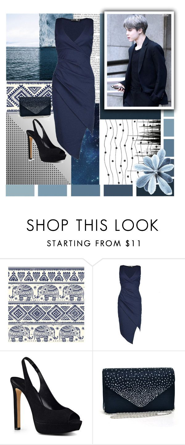 """""""New Year Eve Party w/Jimin"""" by ninaxo17 on Polyvore featuring Ultimate, Boohoo and Nine West"""