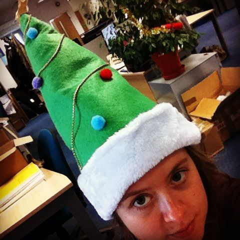 Sarah has got her Christmas tree on to #combatisolation among people with disabilities and mental health needs! Take your #XmasHatSnap: http://www.unitedresponse.org.uk/Event/xmashatsnap