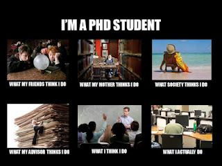 Writing phd