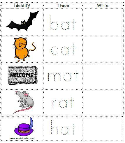 Pin On Cvc Words Activities