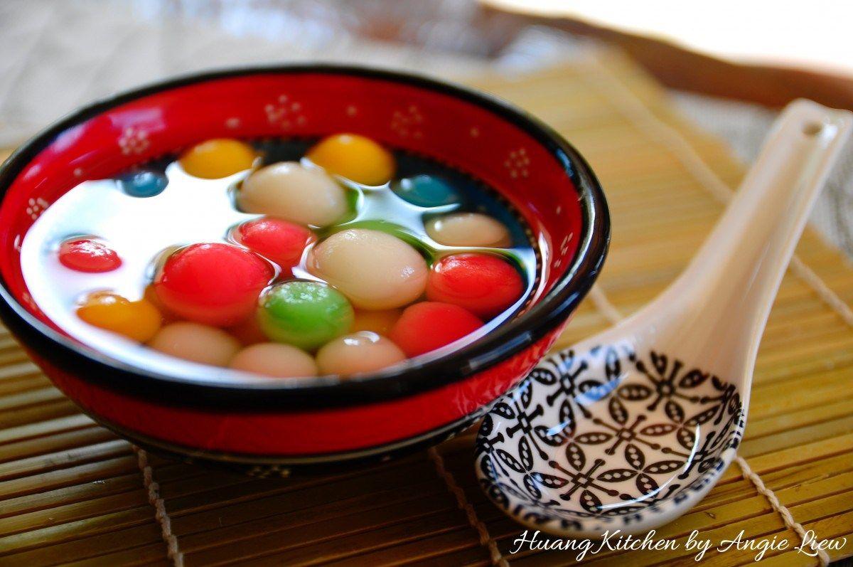 Glutinous Rice Balls With Gingko Nuts Recipe Tang Yuan Huang Kitchen Recipe Nut Recipes Huang Kitchen Recipes