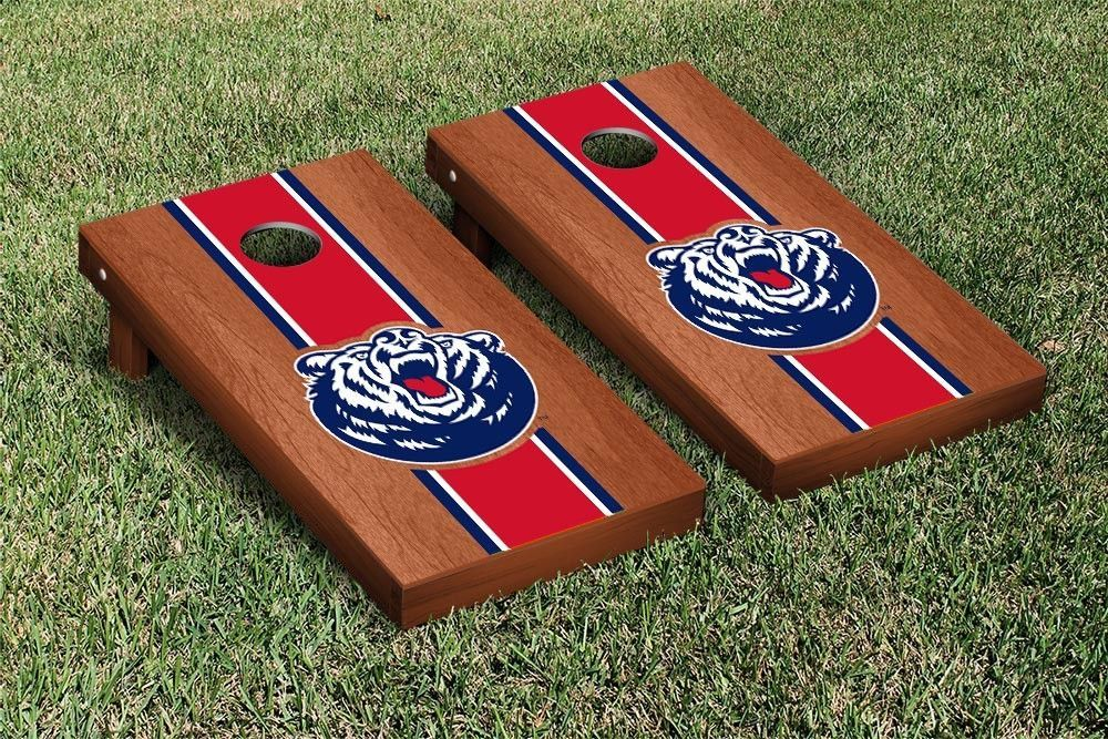 Belmont Bruins Rosewood Varsity Stripe Bag Toss Game