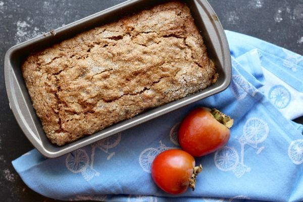 Gluten Free Persimmon Bread Recipe Persimmon Bread Gluten Free Holiday Baking Paleo Dessert