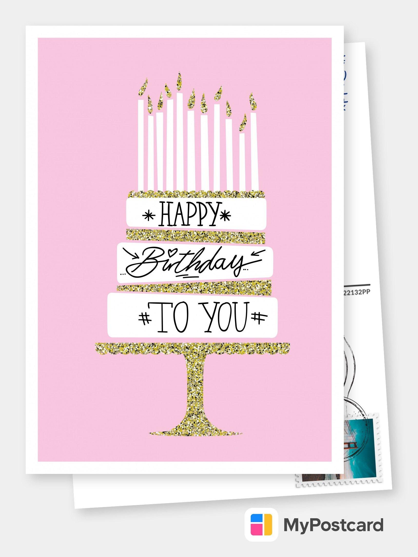 Served Golden Birthday Cards Birthday Card Sayings Birthday Card Online
