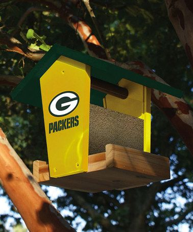 Take a look at this Green Bay Packers Birdfeeder by NFL Game Day: Gift Shop on #zulily today!