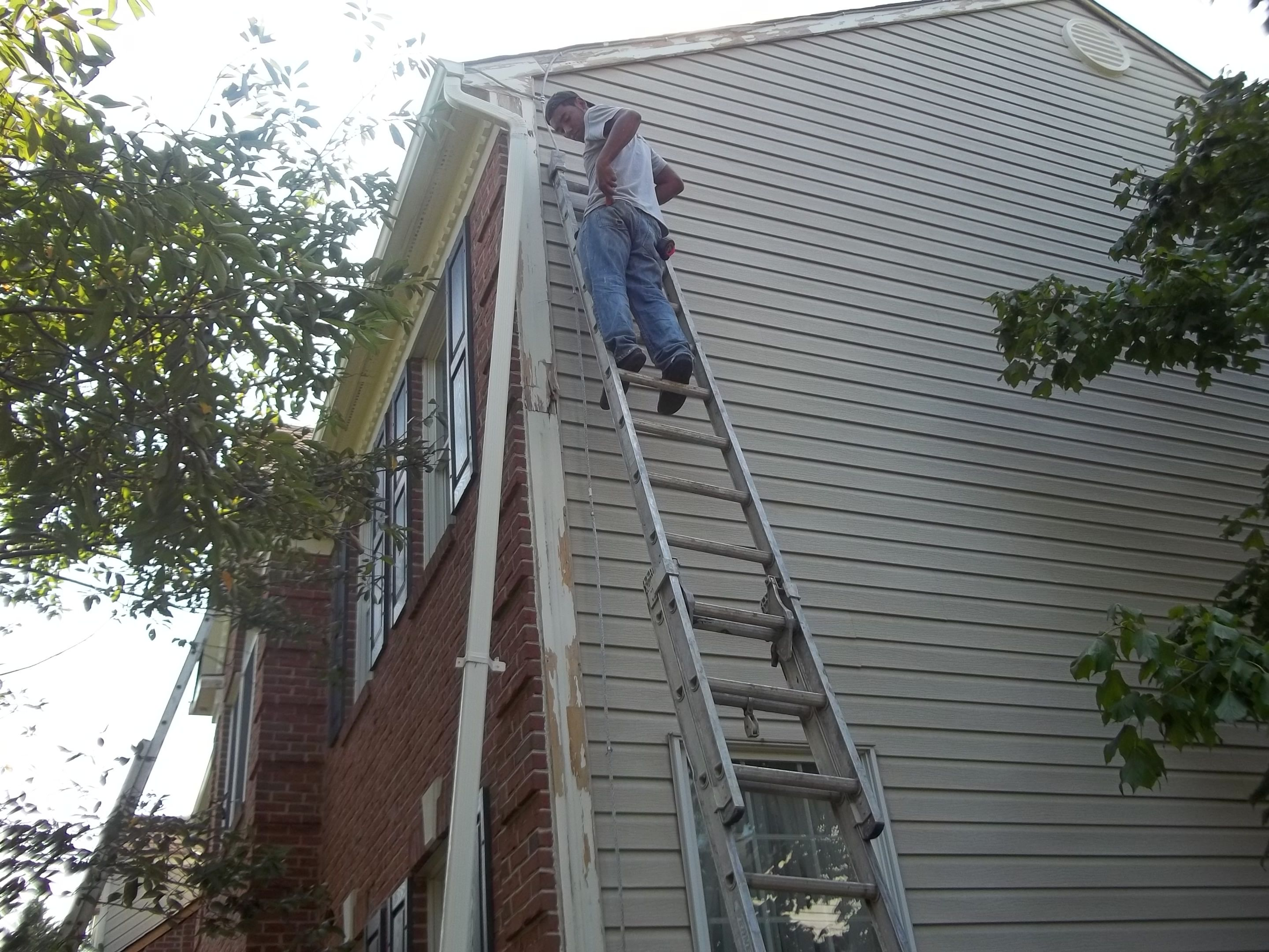 Removal And Replacement Of Rake Board, Bracket, And Corner Board Wood Trim  Sections. Wood TrimExterior