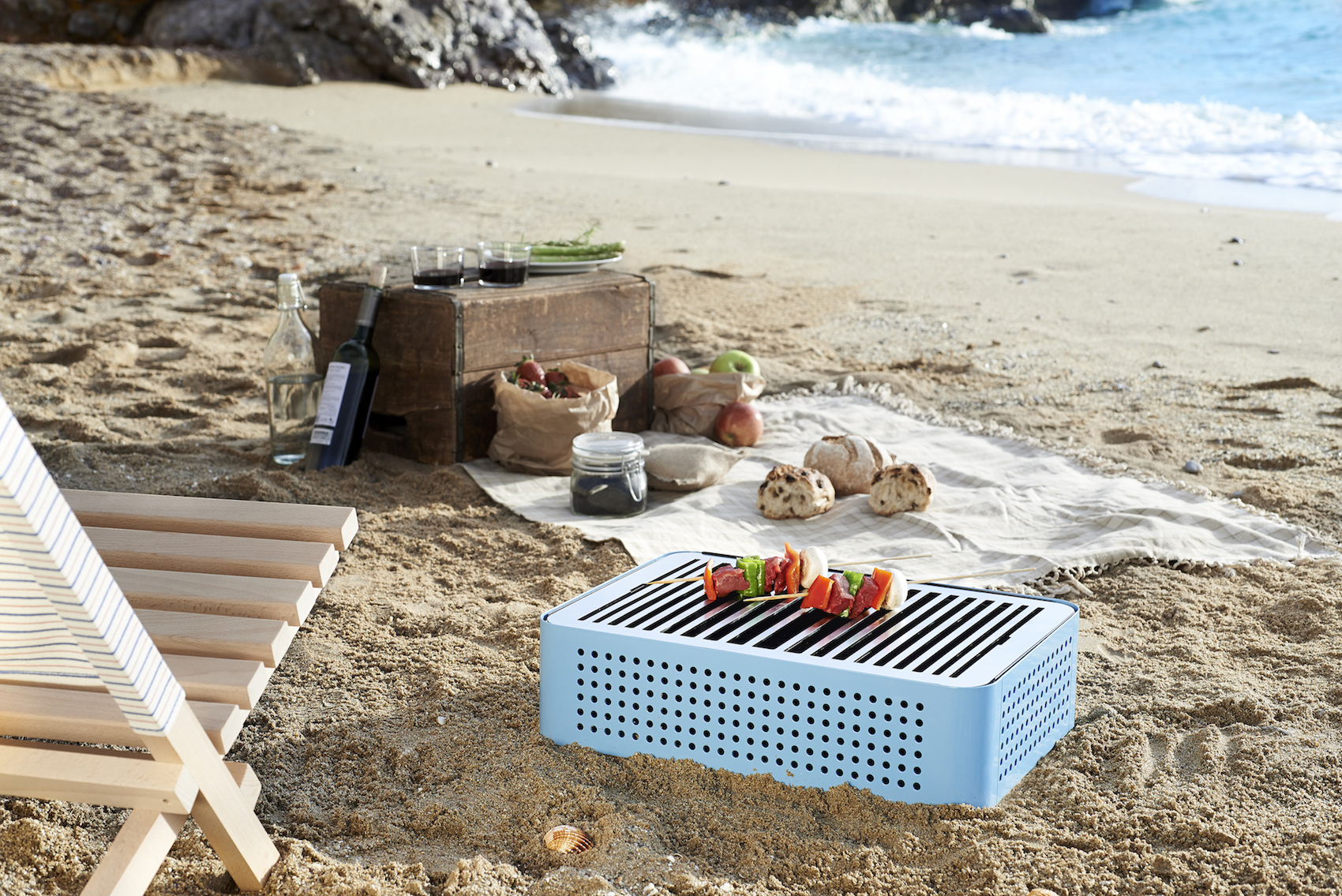 Portable Bbq Grill By Rs Barcelona
