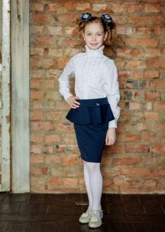 Школьные юбки (62 фото): школьные для девочек и подростков ...
