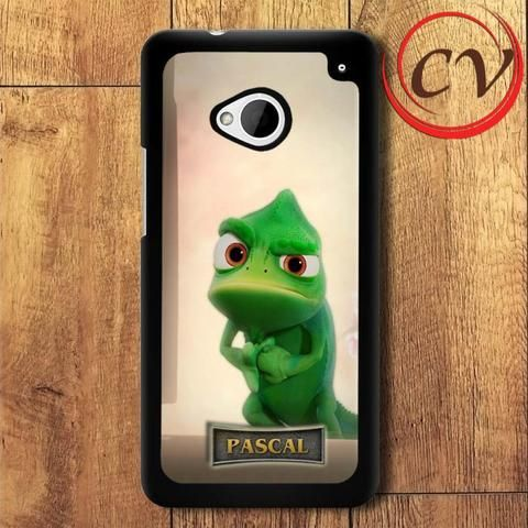 Tangled Pascal Costom HTC One M7 Black Case
