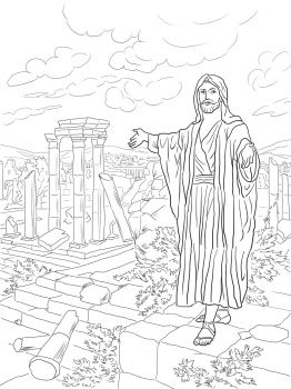 Lesson 12 Haggai Bible Coloring Pages