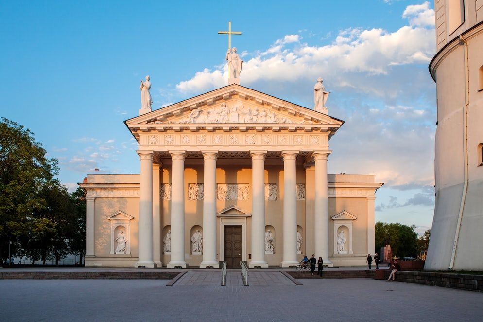 History And Mystery In Vilnius Cathedral Square Cathedral Vilnius Lithuania Travel Cathedral