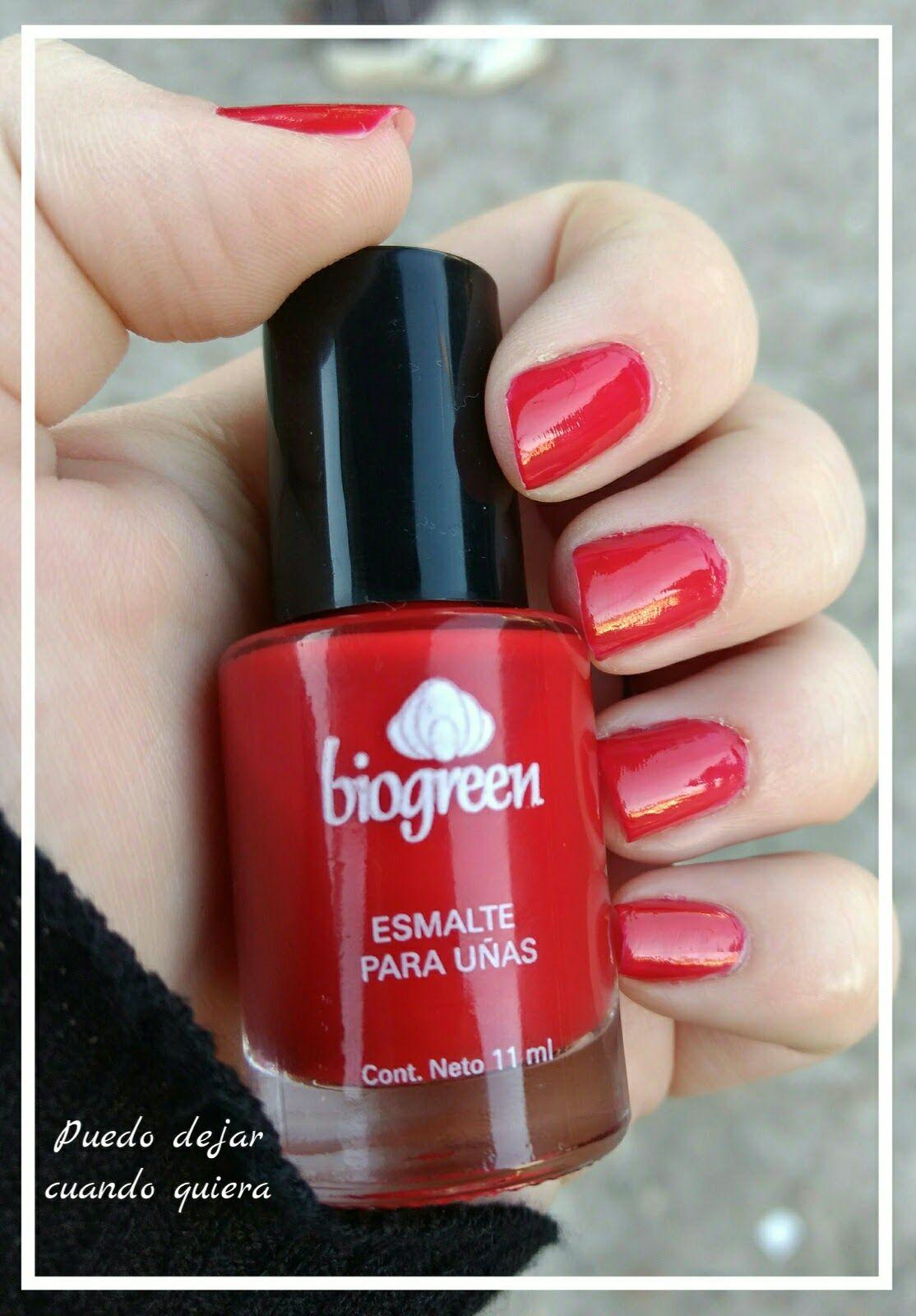 Esmaltes Biogreen, Biogreen, Rojo Soft, Glamour Grey, Rouge Amour ...