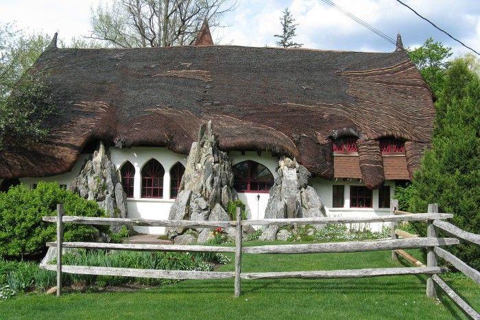 10. Santarella Gingerbread House, Tyringham