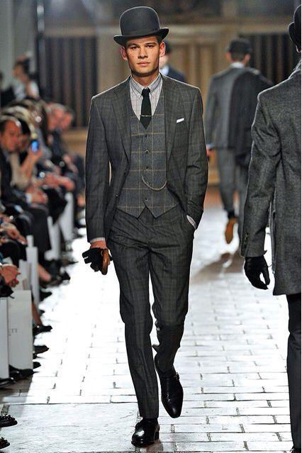 Bilderesultat for bowler hat suit hipster