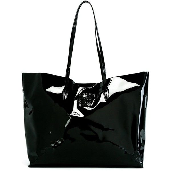 8dd51e91dc Versace Medusa shopper tote ( 815) ❤ liked on Polyvore featuring bags