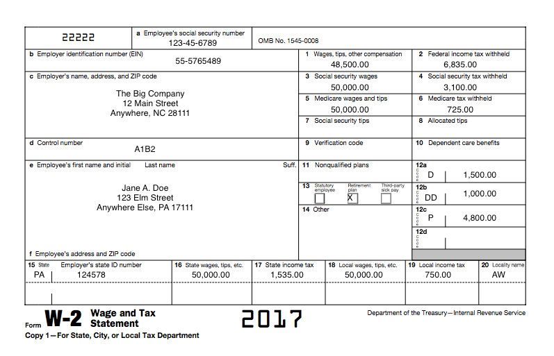 Blank W2 Form 2016 Irs States And Tax Industry Warn Employers To Beware Of In 2020 W2 Forms Power Of Attorney Form Tax Forms