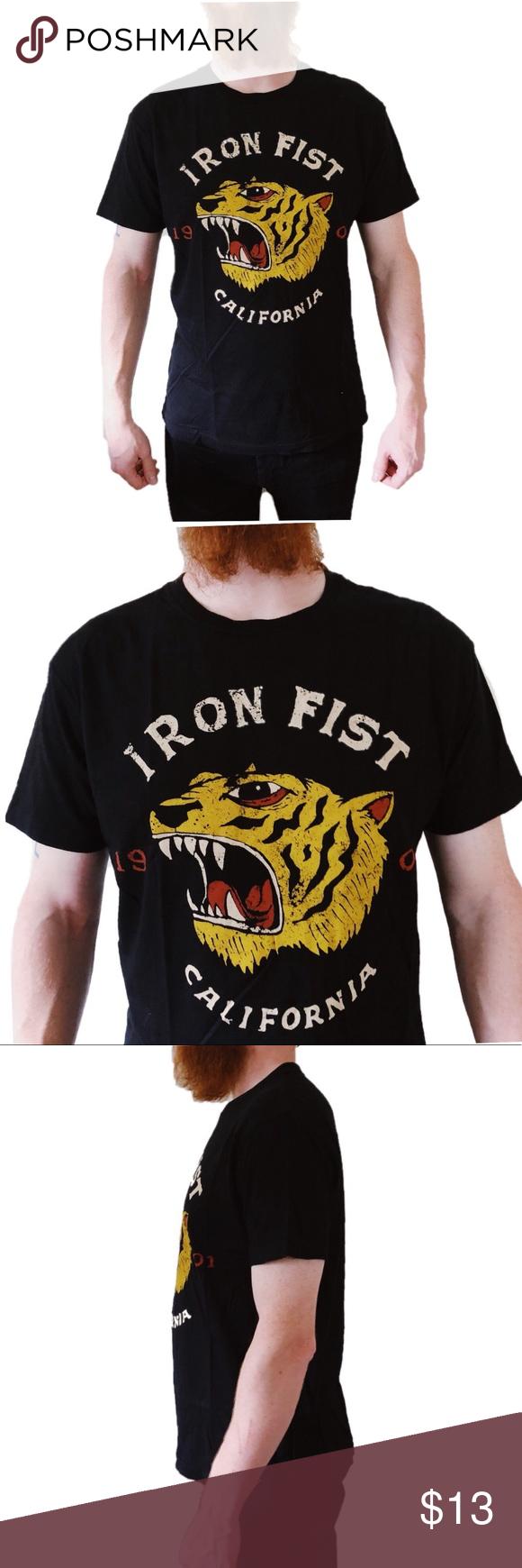 Men's Iron Fist Rumbler Graphic Logo Shirt Boutique Logo
