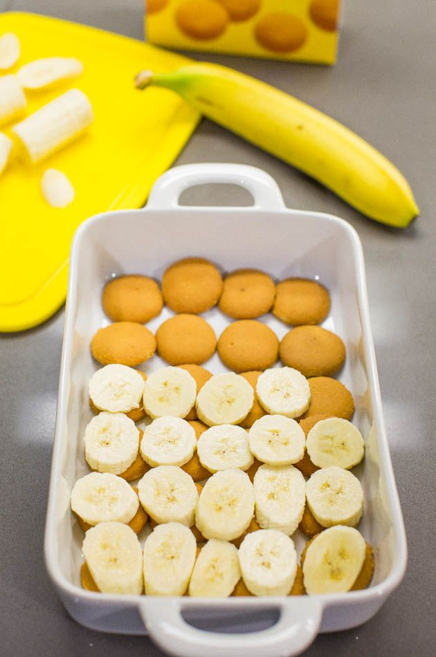 Homemade Banana Pudding Cake