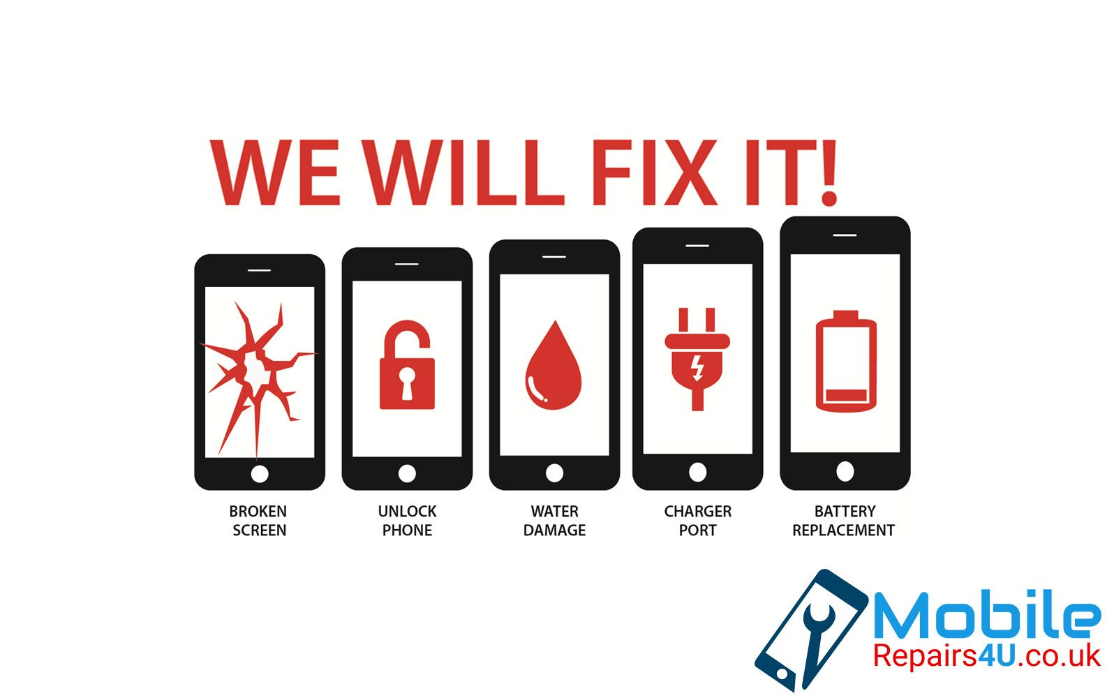 We provide every kind of repair services to you damaged