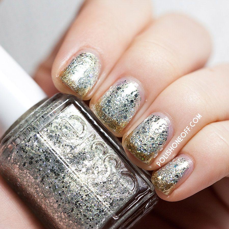 Essie Silver Glitter Nail Polish - Absolute cycle