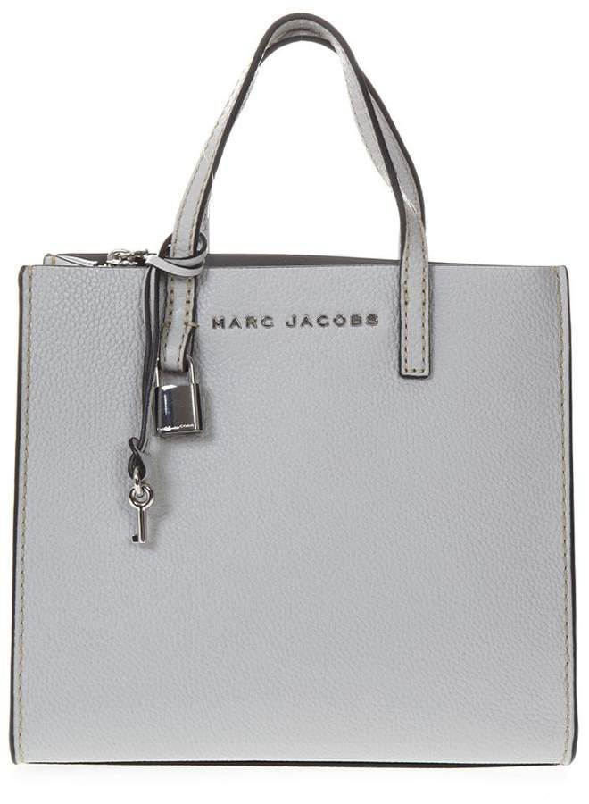 e8ea8f46b8c49e Marc Jacobs Mini Grind Gray Leather Tote Bag. ShopStyle Collective Michael  Kors ...