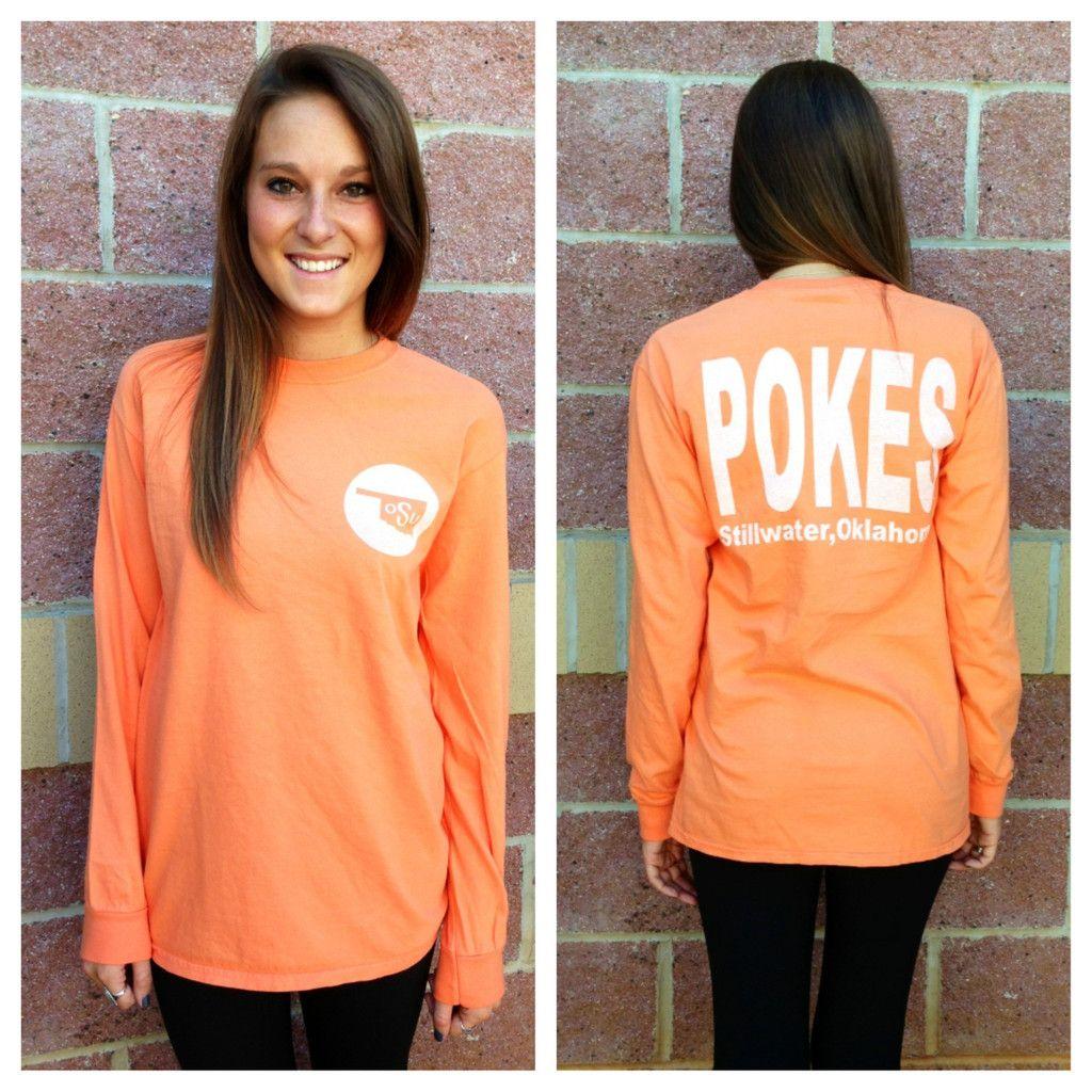 Women Long Sleeve OSU Go Pokes Shirt