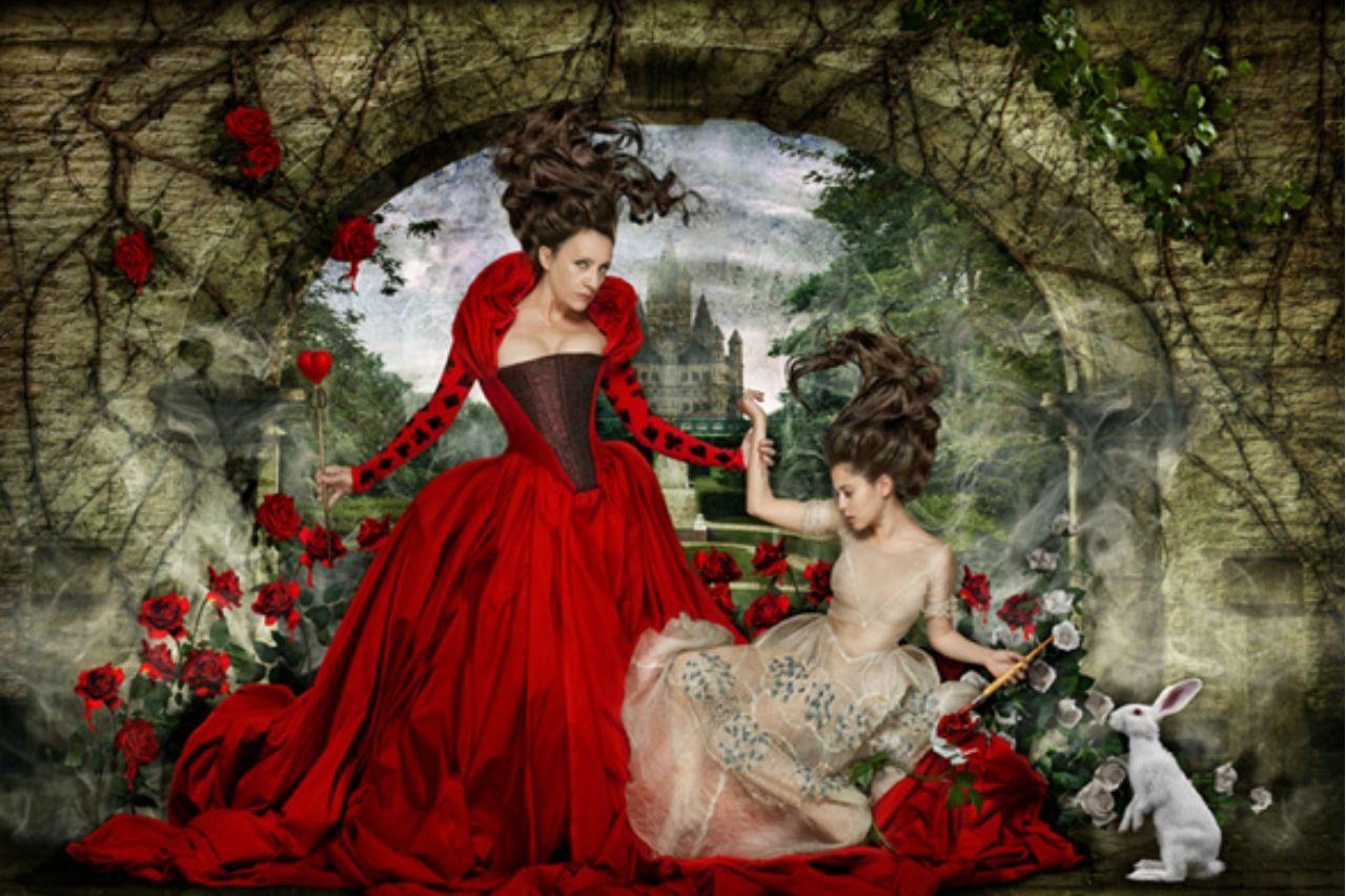 The Look: Wonderland -  Blanca Portillo and María León photographed by Manuel de los Galanes.