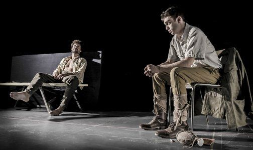 """(29) """"La piedra oscura""""  Centro dramatico nominada a los premios Max"""