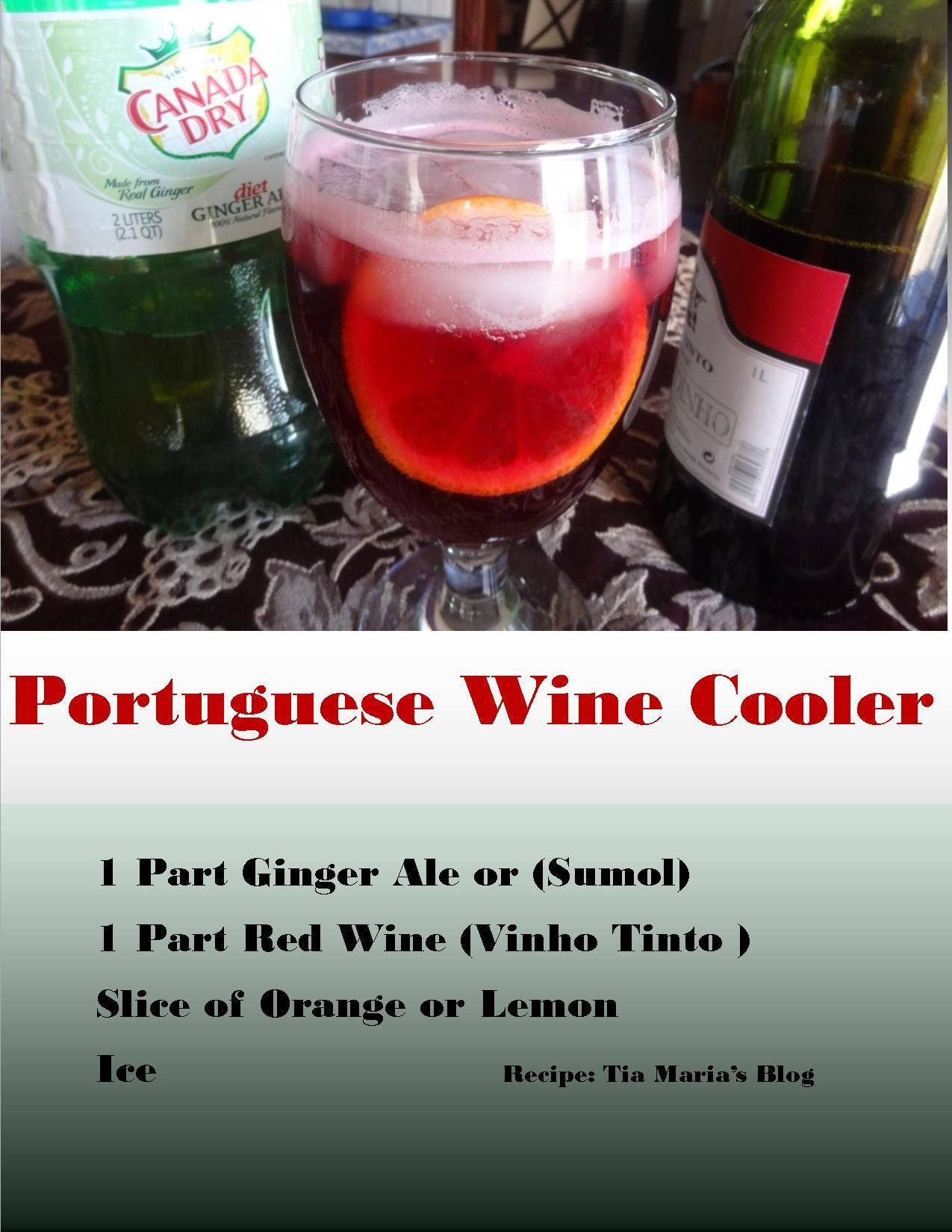 Recipe The Blush Wine Cooler Recipe Blush Wine Wine Cooler Wine Coolers Drinks