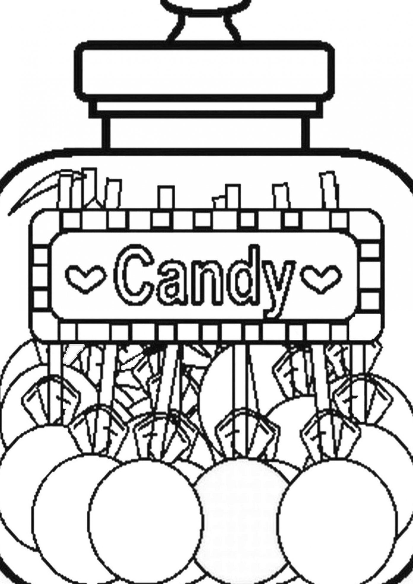 Free Easy To Print Candy Coloring Pages Tulamama In 2020 Candy Coloring Pages Printable Coloring Pages Free Printable Coloring Pages