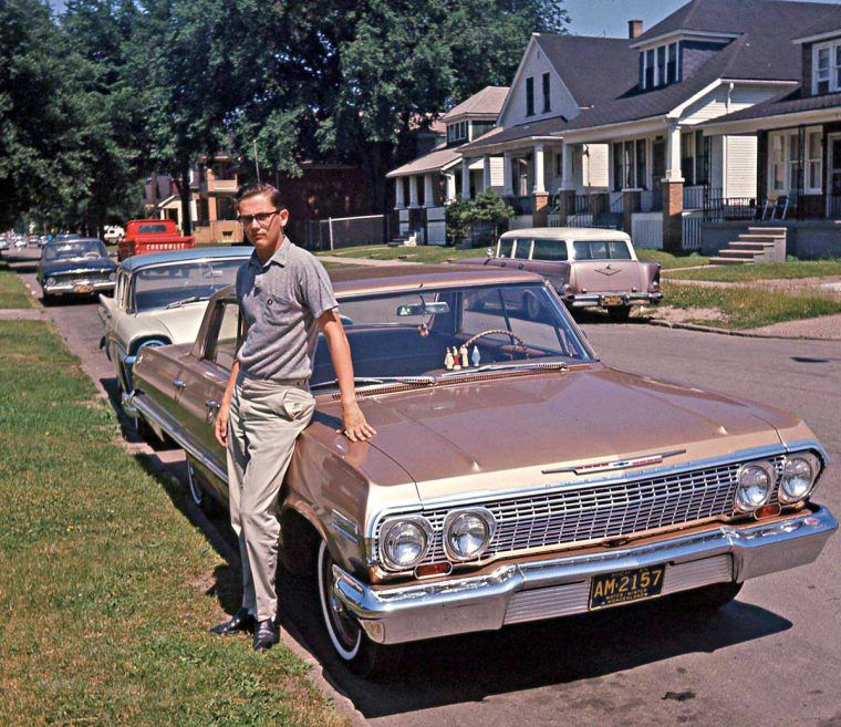 Four Fun Friday Forties, Fifties and Sixties Kodachrome Car Images