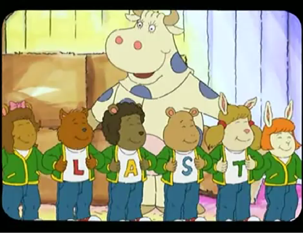 Arthur- The Last Of Mary Moo Cow- When DWs program Mary Moo Cow goes off the air how will she survive?