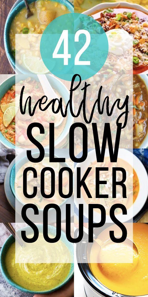 19 Soul Warming Slow Cooker Soups & Stews #crockpotmealprep