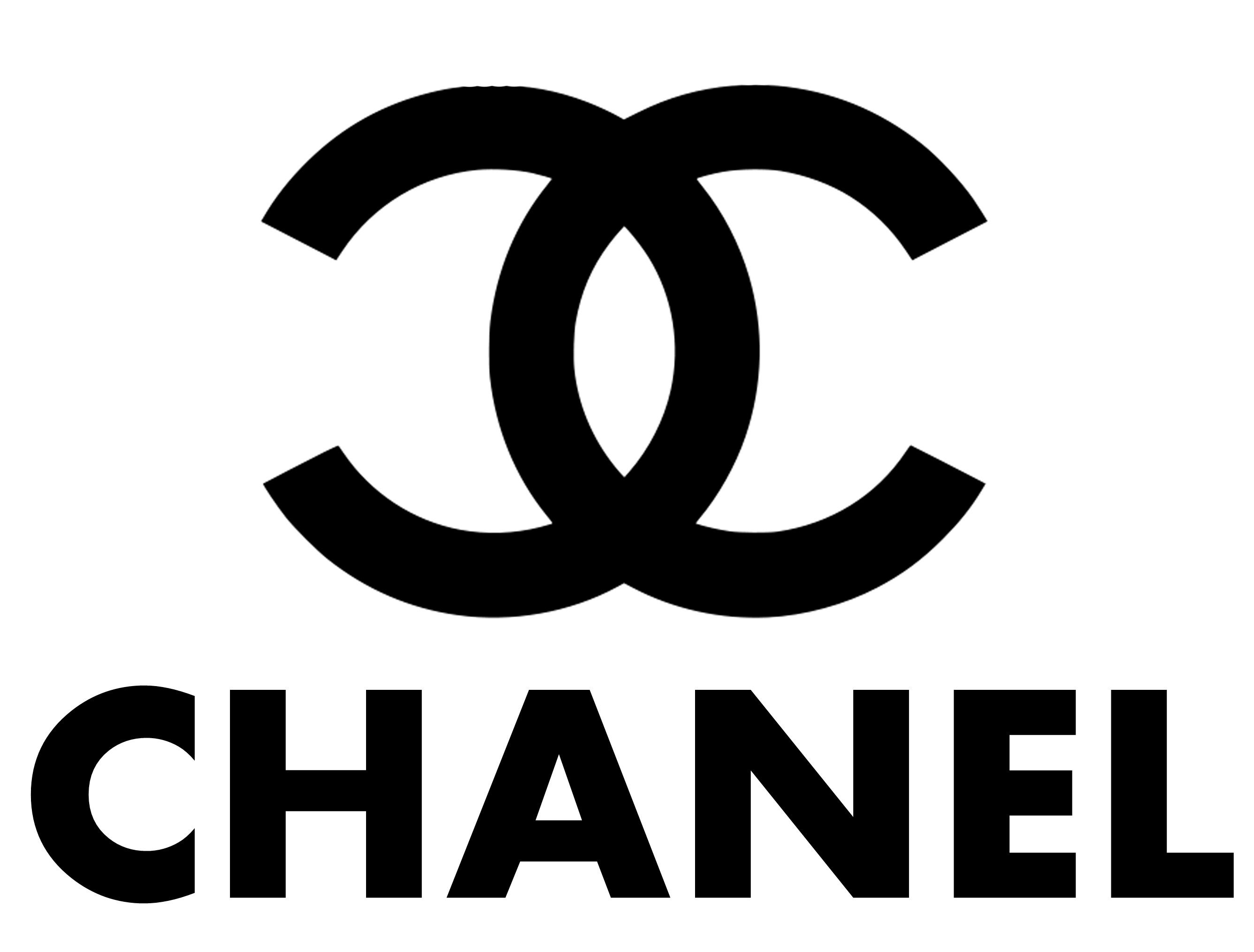geometrically balanced word chanel could be a girl or woman s