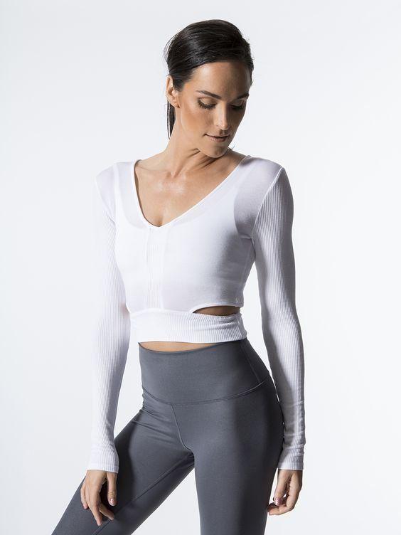 Image result for ballet long sleeve workout tops
